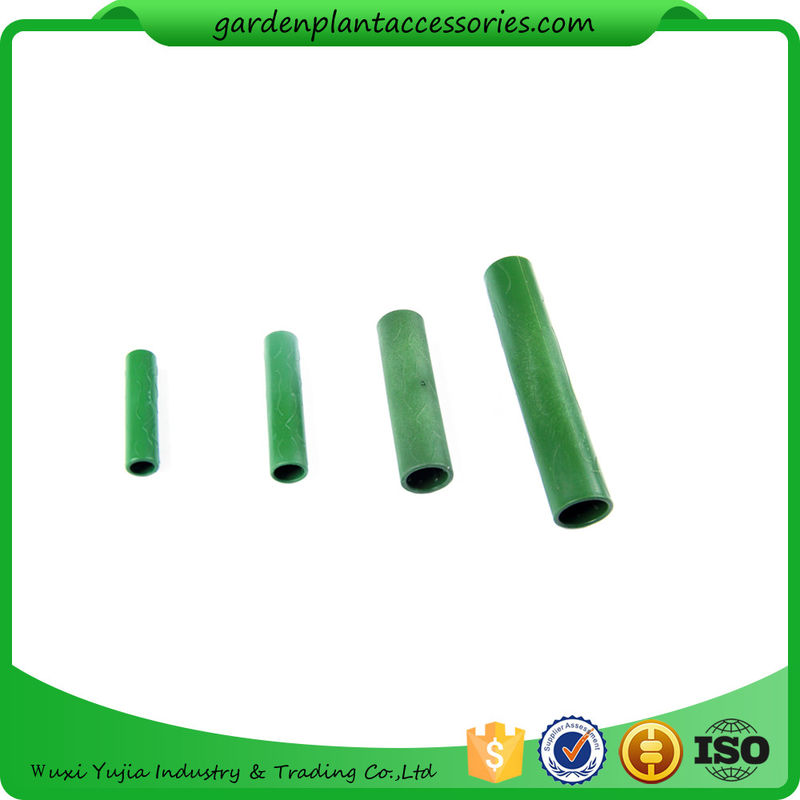 Beautiful Green Bamboo Trellises Garden Cane Connectors Match With Garden Stakes  10pcs/pack Garden Stakes Connectors
